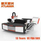 Máquina de estaca do laser da fibra da elevada precisão 1000W/mini preço do cortador do laser do CNC