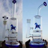 A tubulação de fumo de vidro colorida a mais quente do Borosilicate da água