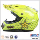 落書き(CR403)が付いている道のヘルメットを離れた点Motorcrossまたは