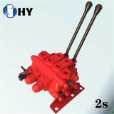 ZFS 2 Spulen-hydraulisches Richtungsregelventil-heißes Verkaufs-Gerät