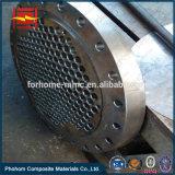 熱交換器のためのCuNi 9010 Cupronickelの鋼鉄覆われた版Tubesheet