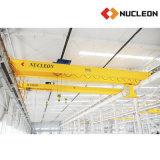 Grúa de puente doble móvil de viga de Nlh 5 toneladas