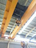 研修会のヨーロッパの二重ガード橋クレーン倍のビーム天井クレーン