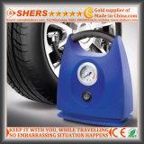 Compresor de aire del coche con el aparato para inflar con aire del neumático, calibrador de presión (SH-132)