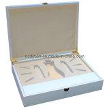 Caixa lustrosa elevada de madeira de /Gift da caixa de jóia