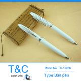 Design famoso Custom Metal Pen con Silver Clip (TC1008)