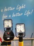 Indicatore luminoso tenuto in mano ricaricabile del lavoro 900lm del LED con la forte base del magnete