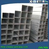 Conduttura quadrata d'acciaio galvanizzata