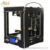 2017 Heet! ! ! 3D Printer van Reprap Prusa van de Precisie van de Printer van Anet A3 Full Assembled Desktop 3D I3 met 1roll Filaments+16g BR Card+Tool