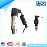 transmissor de pressão do aço inoxidável de 1-5V 4-20mA, sensor da pressão para a medida da pressão de -100kpa~60MPa
