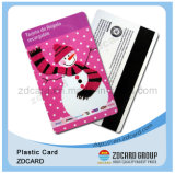 PVC Gift Card do plástico para Christmas