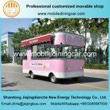 Трейлер еды доставки с обслуживанием мороженого хорошего качества передвижной электрический