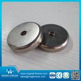 Magnete poco profondo del POT del magnete del neodimio dell'anello di alta qualità