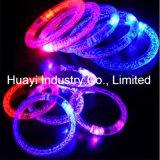 Éclairage LED estampé par coutume vers le haut de bracelet de bulle