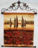Pintura al óleo floral decorativa (ADB0130)