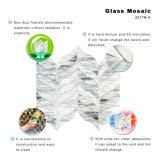 Fabricantes da China Mão de corte Mármore de artesanato Mosaico de vitrais cinza