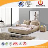 고품질 직물 나무로 되는 2인용 침대 침실 가구 (UL-FT806)