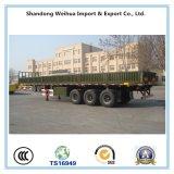 半60t 13mの側面の平面貨物トレーラーの製造業者