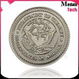 Monnaies en cuivre en argent moulé en laiton OEM