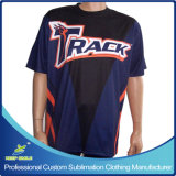 Sublimation personalizzato Bowling Sporting T Shirt con Custom Design