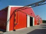 Красивейшая окружающая среда хорошего полуфабрикат сарая рамки стальной структуры