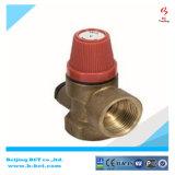 Válvula de seguridad de cobre amarillo, relevación de bronce, válvula de descarga de presión