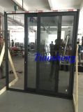Three personnalisé Tracks Aluminum Sliding Door avec Crim Safe Screen
