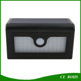 inländische intelligente empfindliche der Bewegungs-50LED Solar-LED Lampen-im Freien wasserdichtes Solarwand-Licht Fühler-des Garten-mit austauschbaren Batterien