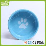Design de moda Dog Footprint Ceramic Pet Bowl