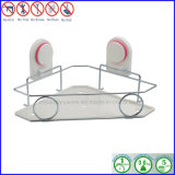 Plated cromato Bathroom Shelf con Suction Cup Make di Stainless Steel Bar
