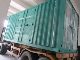 1000kw diesel die met Container Stille Bijlage produceert