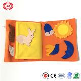 Libro suave de la felpa del bebé fijado pre lectura del regalo educativo