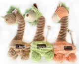犬のおもちゃのプラシ天ロープの製品のアクセサリの供給ペットおもちゃ