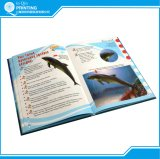 専門家の縫うハードカバーカラー本の印刷
