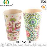 2016 vários estilos BPA livram o copo de bambu da fibra (HDP-2000)