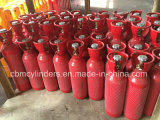 De draagbare Cilinders van het Acetyleen met de Wachten van de Klep van de Veiligheid
