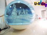 Barraca inflável do globo da neve para o Natal