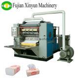 4 Zeilen voll automatische Abschminktuch-faltende Papiermaschine mit der Prägung
