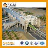 Het architecturale Model die van de Bouw van de Schaal de Modellen van de Model/Woningbouw van de Factor/van de Bouw/Mak Arafat het Model van de Post maken