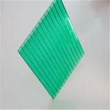 Hoja hueco azul del policarbonato
