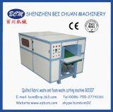 Maschine für Schnitt der gesteppte Gewebe-Abfall zum regelmäßigen Stück