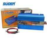 Inversor puro da potência solar de onda de seno da alta qualidade 1000W 24V de Suoer (FPC-1000B)