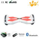Scooter électrique de Bluetooth d'équilibre sec d'individu