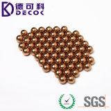 bola de acero plateada de cobre G1000 de 11m m
