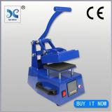 Máquina de impressão manual da etiqueta da imprensa do calor da venda superior para a roupa