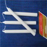 Candela bianca di Houshold della candela bianca del bastone del rifornimento 50g di prezzi di fabbrica
