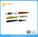 Conetor de fibra óptica Singlemode do PC do St/da alta qualidade