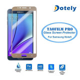 Película balística del protector de la pantalla de la cubierta completa del protector de la pantalla del LCD del vidrio Tempered para la nota 5 de la galaxia de Samsung