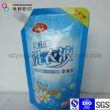 Detergente de lavandería personalizado Stand Up Spout Packaging Bag