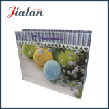 Праздник пасха с мешком подарка покупкы бумаги искусствоа яркия блеска бумажным